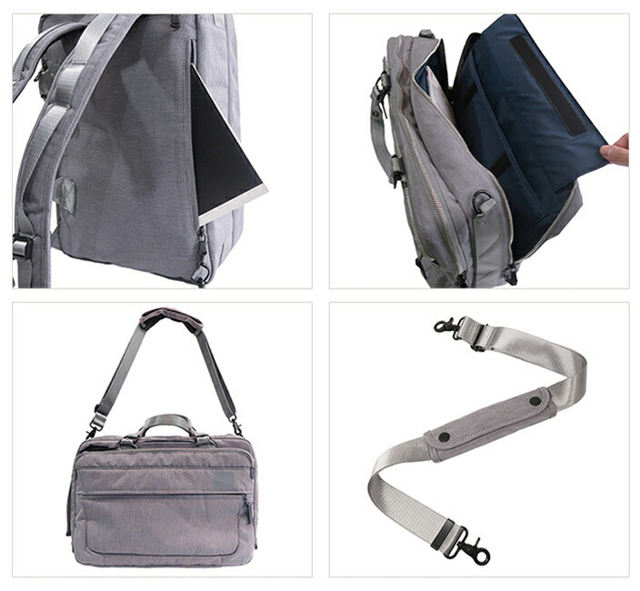 b39edda71ff8 付属のショルダーベルトでショルダーバッグとして使うこともできます。 ショルダーパッドは肩に負担のないものを使用しており、お好みで取り外せます。