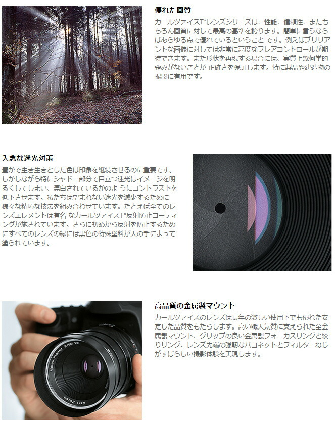 Zeiss Inlay for Planar T 1.4//50 Lens