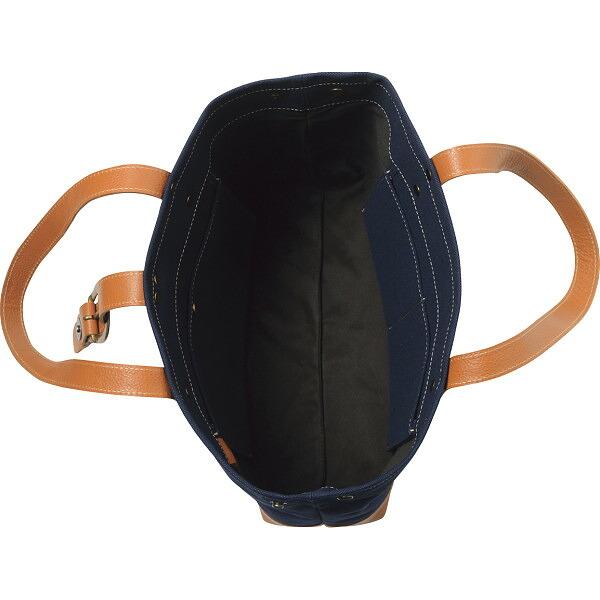 653e23e02934 しっかりとした厚手の6号帆布とナチュラルな風合いの牛革のバッグです。A4サイズが入る大きさでとっても使いやすい。