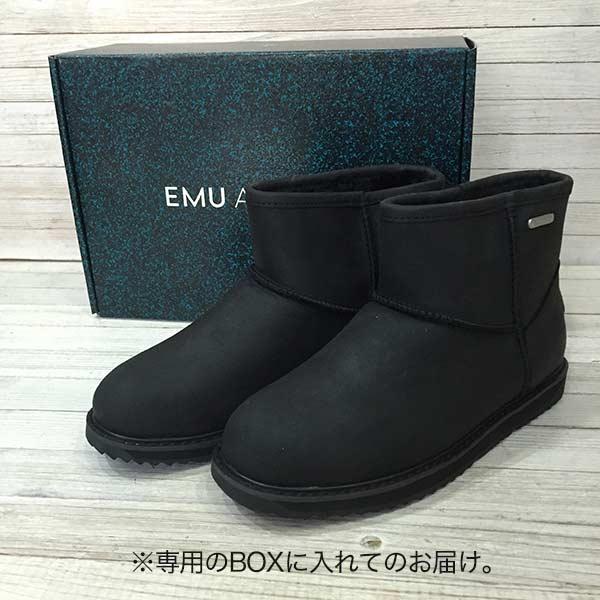エミュ,EMU,ムートンブーツ patersonleathermini