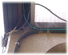 クモの巣消滅ジェット 施工箇所