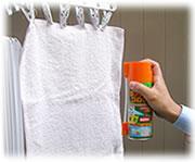 かめむし撃退スプレー カメムシコロリを布団・洗濯物へ噴霧