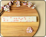 桜ふぶき 棒石鹸