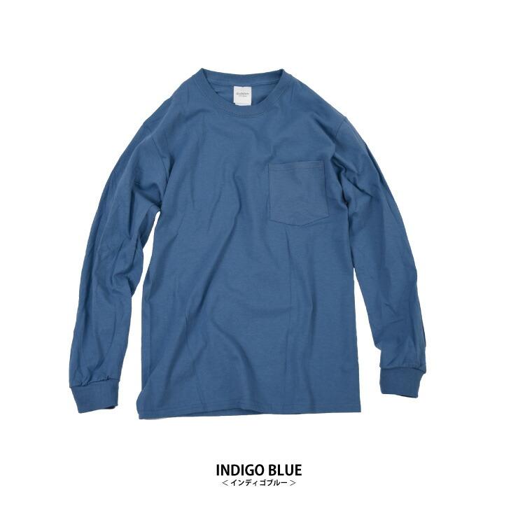 ポケット付ロングTシャツ