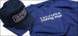 カリフォルニアコーヒーショップ×テニスデデニスのTシャツ