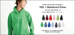 テニスデデニス 刺繍ロゴ スウェット パーカー メンズ 秋冬 裏起毛 全13色 S-XL