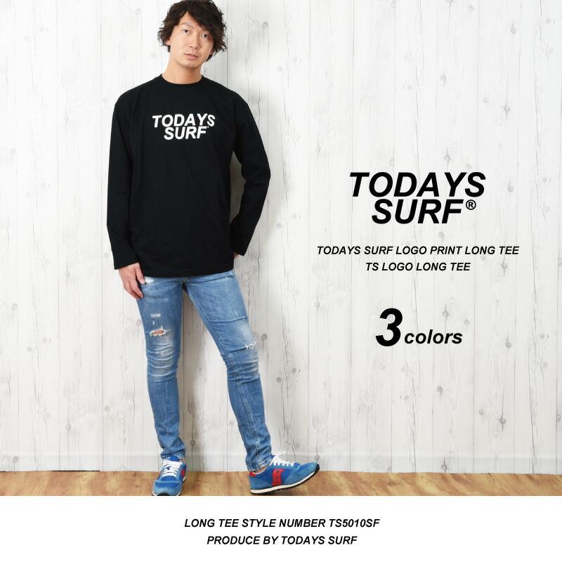 TODAYS SURFのロンT メンズ おしゃれ ロングTシャツ