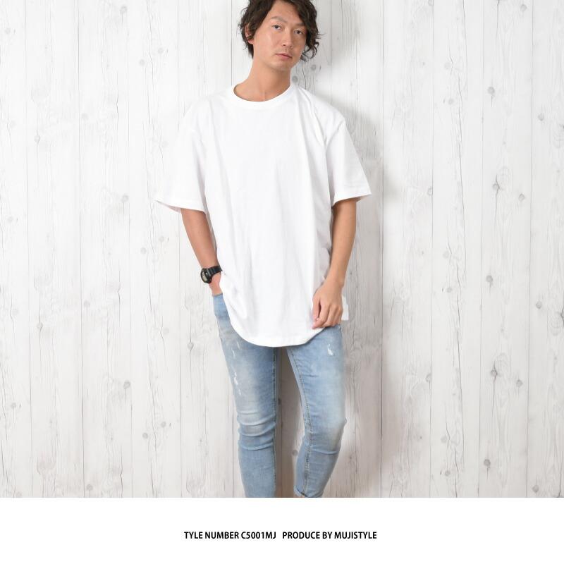 無地 Tシャツ 大きいサイズ 厚手 メンズ カラフル