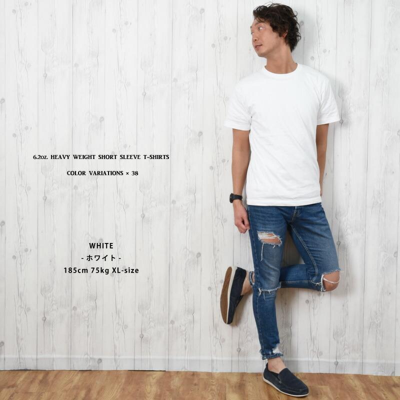 Tシャツ 半袖 メンズ 無地 大きいサイズ