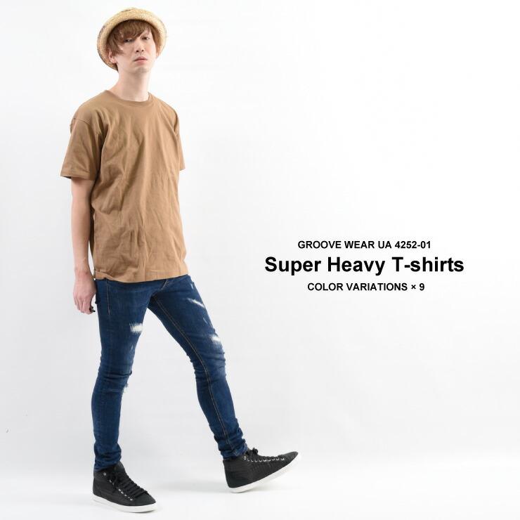 厚手 無地Tシャツ メンズ