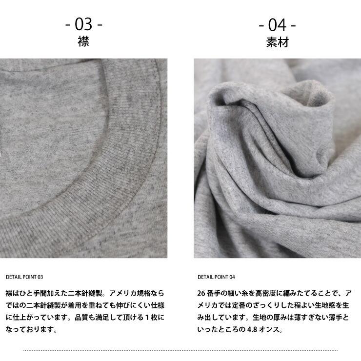 フルーツオブザルーム(FRUIT OF THE LOOM)無地Tシャツ