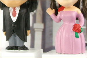 ウェディングマイフィギュア/プチ・ファミリー/ピンク・ドレスのボディ