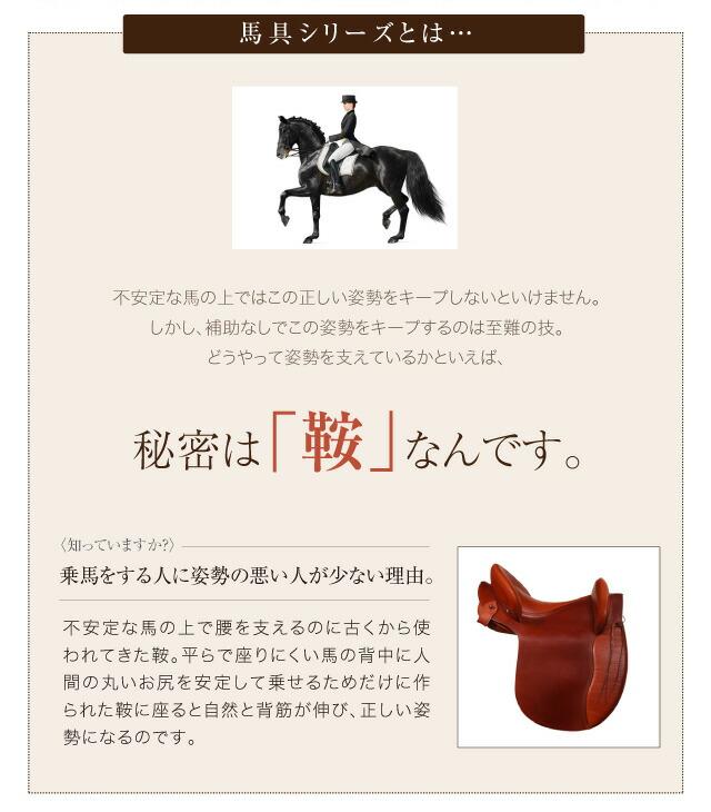不安定な馬の上ではこの正しい姿勢をキープしないといけません。しかし、補助なしでこの姿勢をキープするのは至難の技。どうやって姿勢を支えているかといえば、秘密は「鞍」なんです。