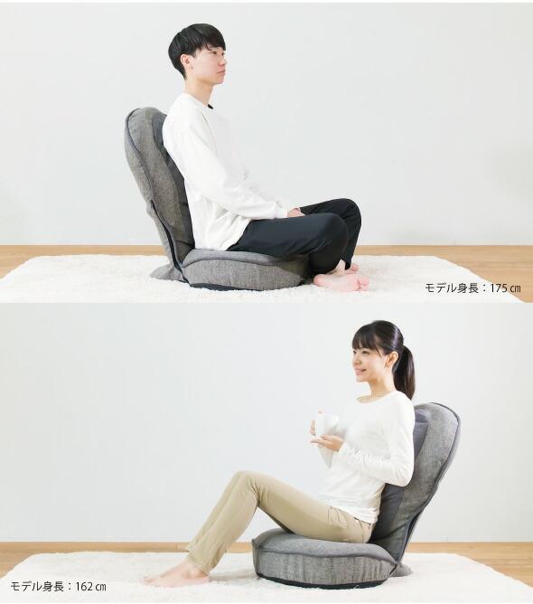 背筋がGUUUN美姿勢座椅子プレミアム