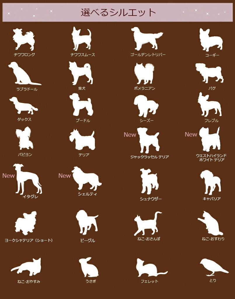 チワワ、ダックス、プードル、ゴールデンレトリバー、テリア、コーギー、柴犬、ポメラニアン、パグ、パピヨン、フレブル、シーズー、ラブラドール、ねこ、うさぎ、ほか