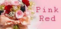 ピンク系のプリザーブドフラワーギフト