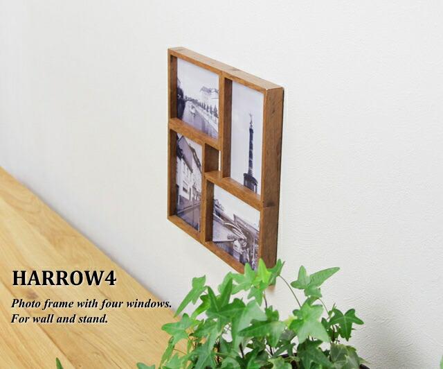 n-l: Photo frame wall hanging Harrow 4 HARROW4 TEAK (picture frames ...