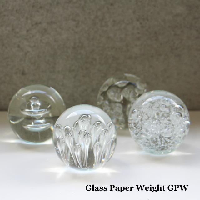 ペーパーウェイト ガラス かわいい 置物 オブジェ