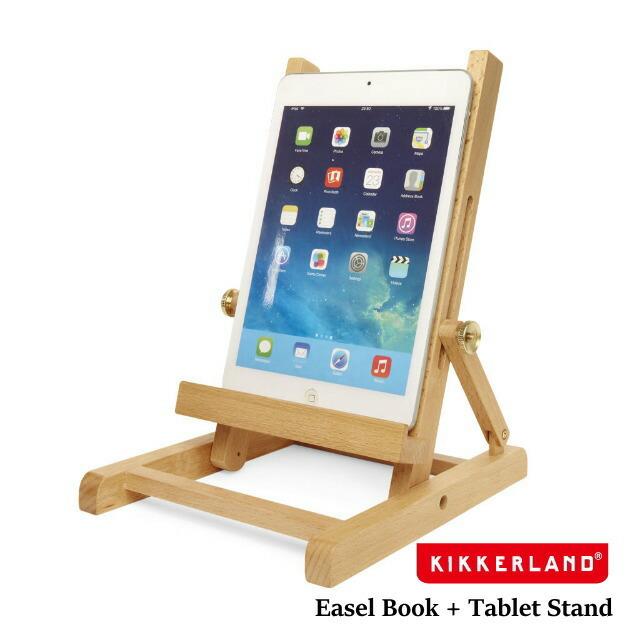 タブレットスタンド 木製