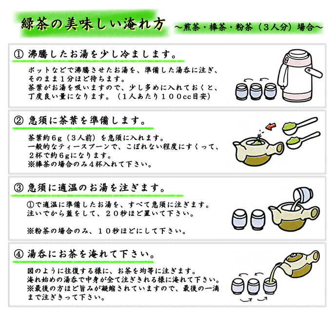 淹方【煎茶】