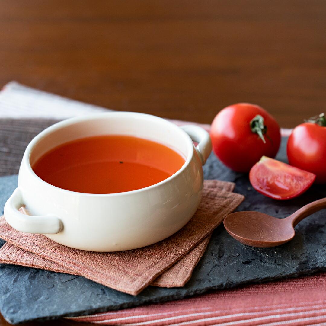 トマト王国高知県産 完熟フルーツトマトスープ