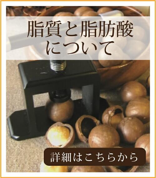 自然派健康食品なふりショップ マカダミアナッツの脂肪と脂肪酸について
