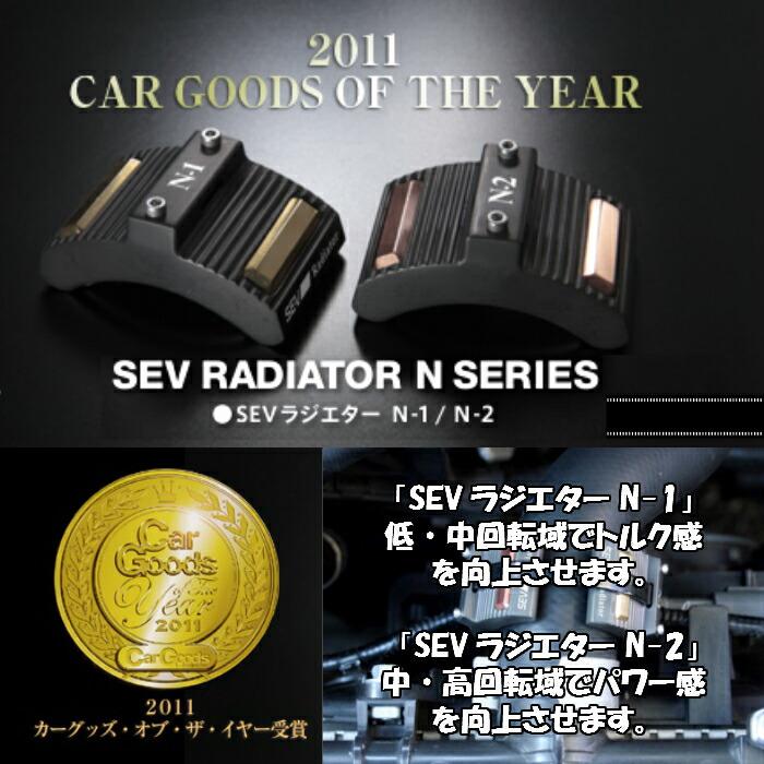 SEV セブ ラジエターN シリーズ
