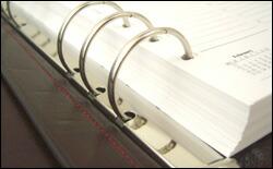 ASHFORD アシュフォード システム手帳 A5サイズ 30mmリング ローファー