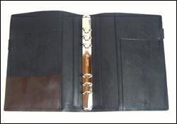 Ashford アシュフォード 本革製 システム手帳 A5サイズ タタンカ Tatanka No3071 ブラック
