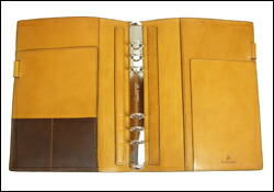 Ashford アシュフォード 本革製 システム手帳 A5サイズ タタンカ Tatanka No3071 ラスタ