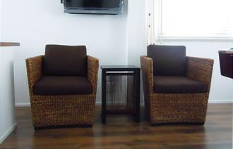 ウォーターヒヤシンス椅子