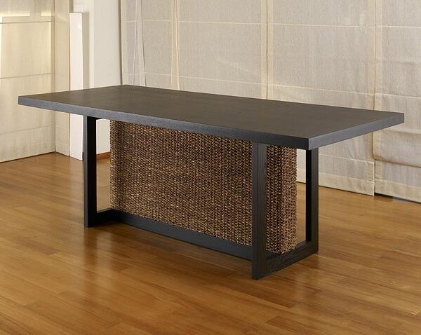 ウォーターヒヤシンスダイニングテーブル