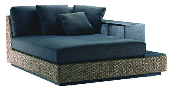 nagi Rakuten Global Market Water hyacinth single daybed sofa