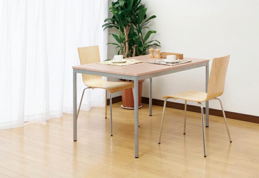ユニットテーブル ダイニングテーブル ワーキングテーブル ワークデスク HEM-1275NMナチュラル木目