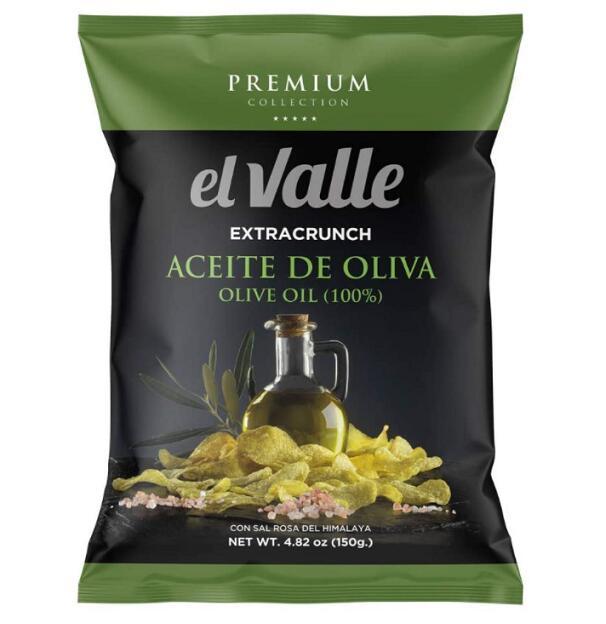高級ポテトチップス オリーブオイルとヒマラヤ塩
