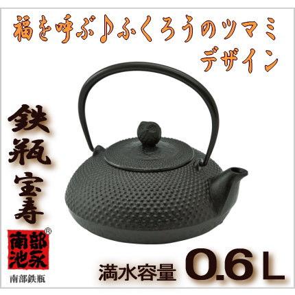 0.6L 池永鉄工 鉄瓶
