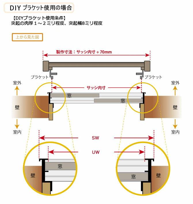 面格子の簡単取り付け DIYキット