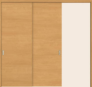 トステム ウッディライン 可動式間仕切り 片引戸2枚建て wmkd-CFE
