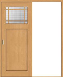 トステム ウッディライン 室内引戸 Vレール方式 片引戸 wkh-cfs