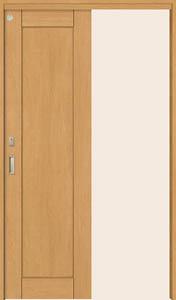 トステム ウッディライン 室内引戸 吊戸方式 片引戸幅狭タイプ WUL-CKB