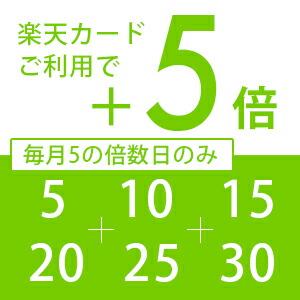 毎月5と0の付く日は楽天カードポイントアップ