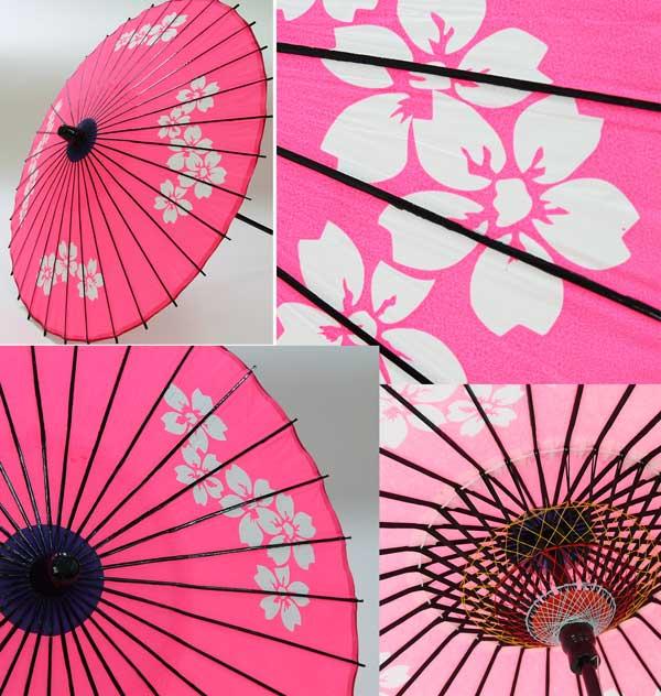 儿童纸伞绘画图片
