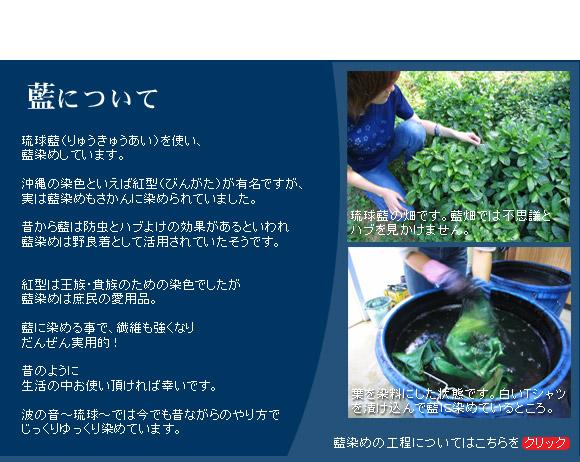 琉球藍について