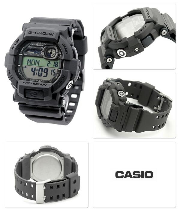 ffe94f4a3a ポイント+2倍 24日9時59分まで】GD-350-8DR Gショック 腕時計 メンズ バイブレーション 海外モデル グレー CASIO G-SHOCK  時計【あす楽対応】 よい販売がある