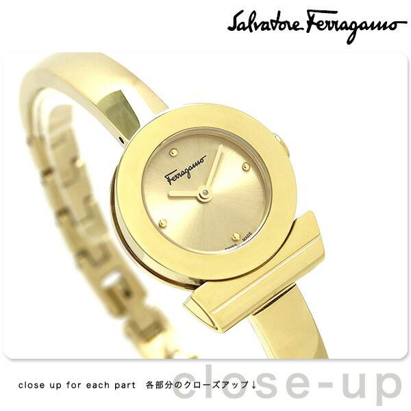 FQ5100017 Ferragamo 腕時計 ゴールド 時計 【あす楽対応】 レディース ブレスレット フェラガモ ガンチーニ