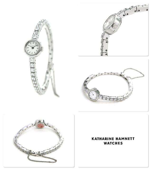 nanaple  katharine hamnett clock lady u0026 39 s watch kh7013b04d katharine hamnett white