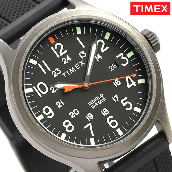 3121026ac Nanaple: Timex Allied Corp. 40mm Calendar Black TW2R67500