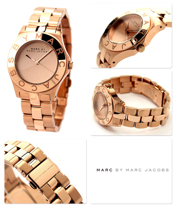 Jacobs New Watch Ladies Rose Stainless Blade Steel By Marc Gold uPZkXiTO
