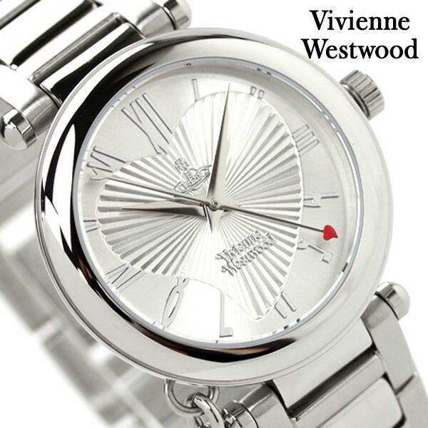 ヴィヴィアン・ウエストウッド腕時計レディースオーブシルバーVivienneWestwoodVV006SLヴィヴィアン・ウエストウッド腕時計 レディースオーブ