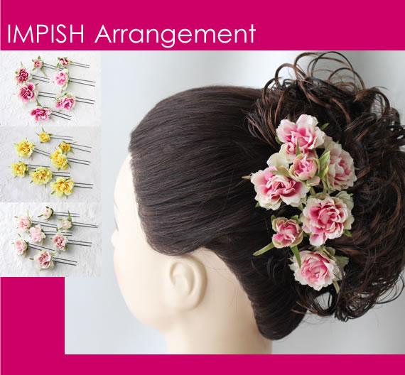 Naocolour Assortment Number Luxury Artificial Flower Hair